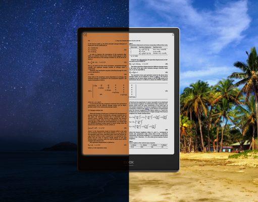 onyx boox note pro 10.3 frontlight