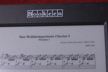 Een leuke toepassing van pdf: bladmuziek (klik voor vergroting)