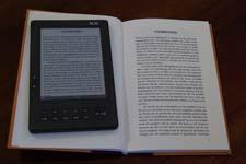 Elektronisch papier en echt papier