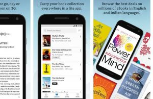 kindle lite app