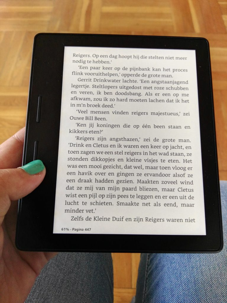 review-kindle-oasis-recensie
