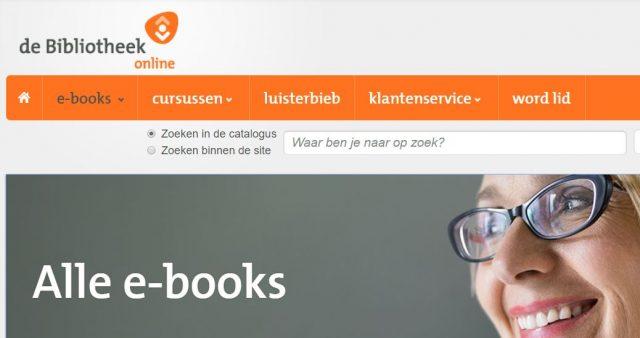online bibliotheek toegenomen