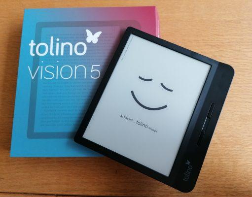 tolino vision 5 recensie