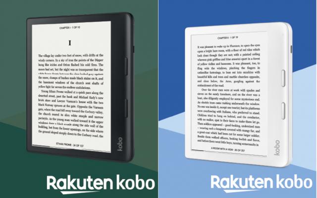 Kobo Sage en Kobo Libra 2