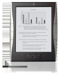 De DR1000S, met touch screen