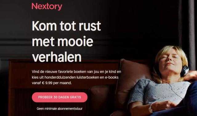 nextory abonnementsdienst